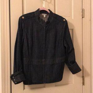 St John jeans jacket